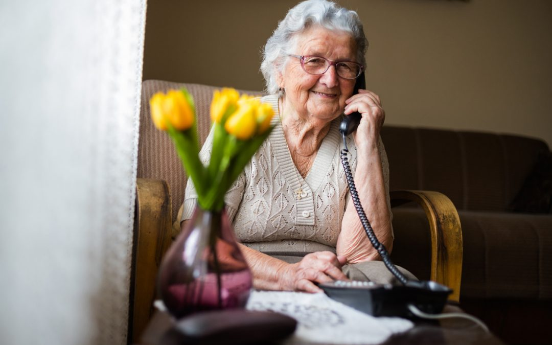 Call a relative or friend
