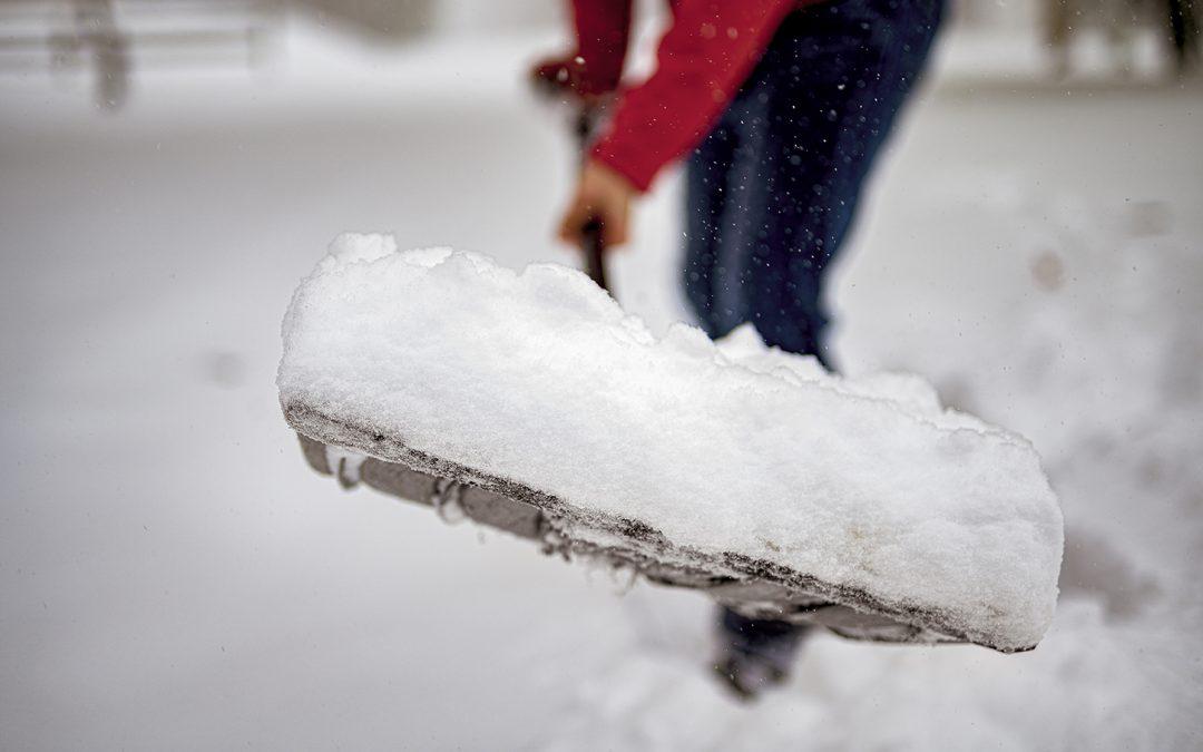 Shovel someone's sidewalk