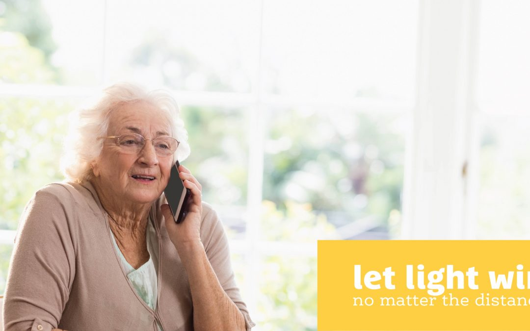 Call a friend or loved one living on their own