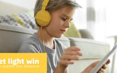 Create a digital adventure for a young family