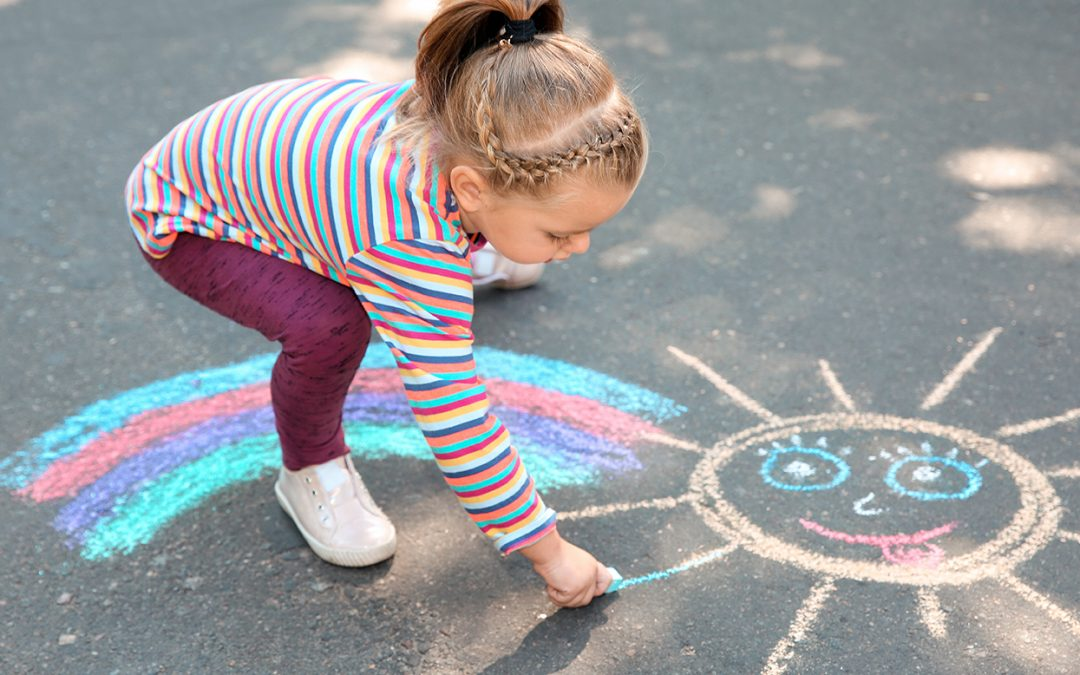 Make Inspirational Chalk Drawings