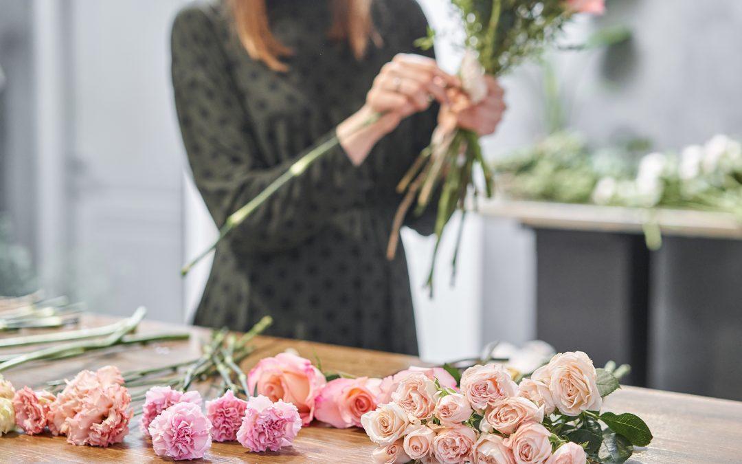 Flowers bring joy