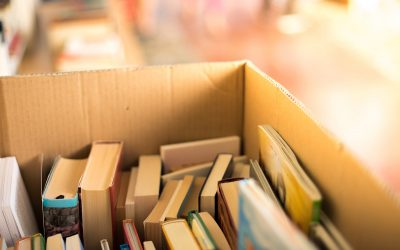 Donate books to your local library