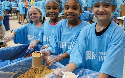 Volunteer for Feed My Starving Children