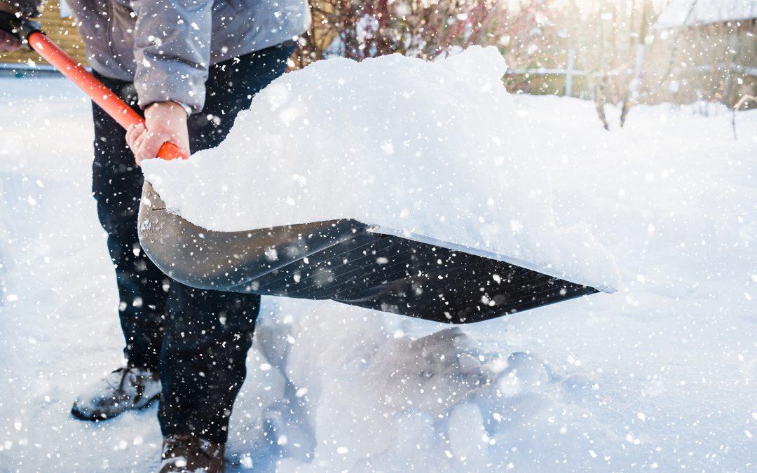 Shovel your neighbor's driveway or walkway