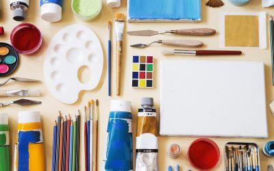 Donate art & craft supplies