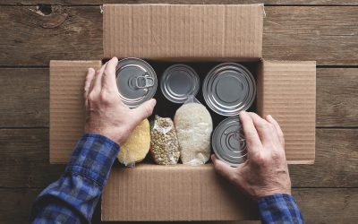 Organize a neighborhood food drive