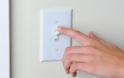 Conserve energy by shutting off the lights